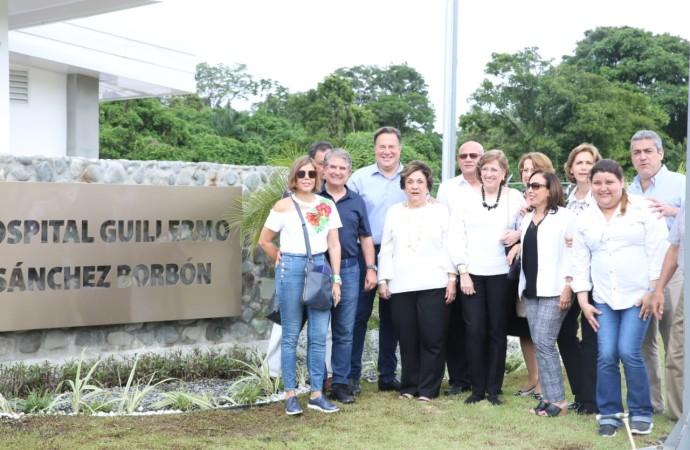 Presidente Varela entrega a los bocatoreños nuevo Hospital Guillermo Sánchez Borbón, ubicado en Isla Colón