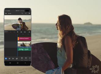 Lanzamiento de Adobe Premiere Rush para Samsung para los usuarios de Galaxy