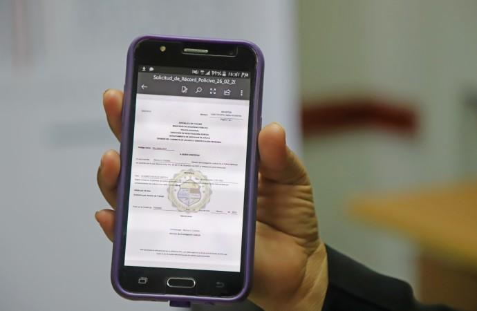 Más de 54 mil panameños solicitan Record Policivo en línea