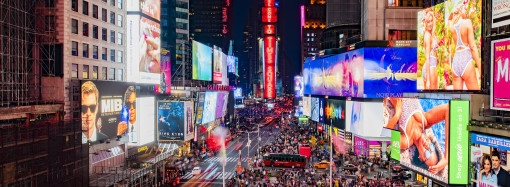 Samsung instala nuevas pantallas LED en el corazón del Times Square de Nueva York