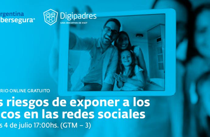 ESET invita a reflexionar sobre el sharenting y los riesgos de exponer a los chicos en las redes sociales