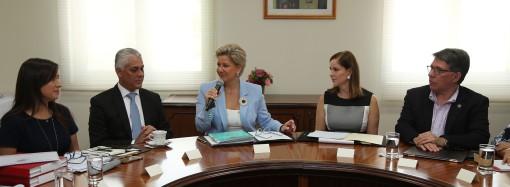 Despacho de la Primera Dama continúa con proceso de transición