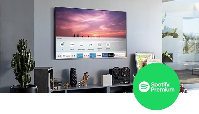 Disfruta Spotify gratis en tu Smart TV de Samsung