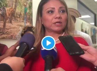 Ministra de Trabajo Doris Zapata realiza recorrido en MITRADEL