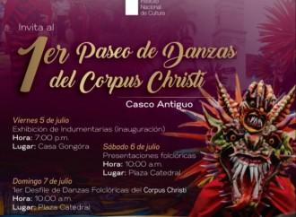 Tradiciones del Corpus Christi llegarán al Casco Antiguo