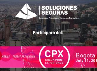 Soluciones Seguras participará delCheck Point Experience (CPX) Colombia