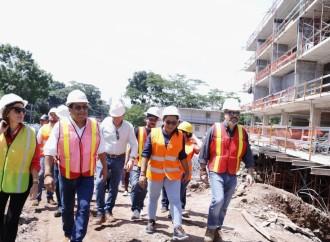 Directiva del INAC inspecciona proyecto Ciudad de las Artes