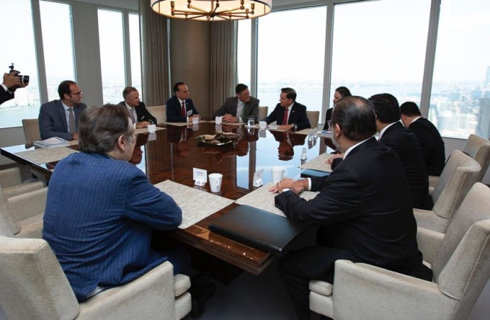 Presidente Cortizo Cohen se reúne con ejecutivos del Citibank y de la banca internacional