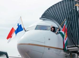 Copa Airlines conecta por primera vez a la Ciudad de Paramaribo con el continente Americano