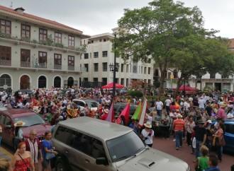 Celebran con éxito actividades del Corpus Cristi en Casco Antiguo
