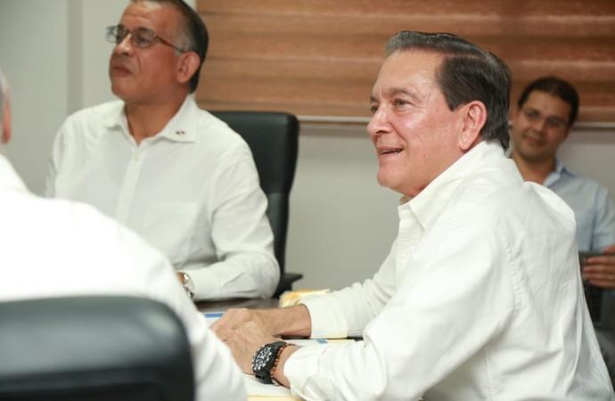 Presidente Cortizo Cohen gestiona acciones para incentivar la producción de arroz