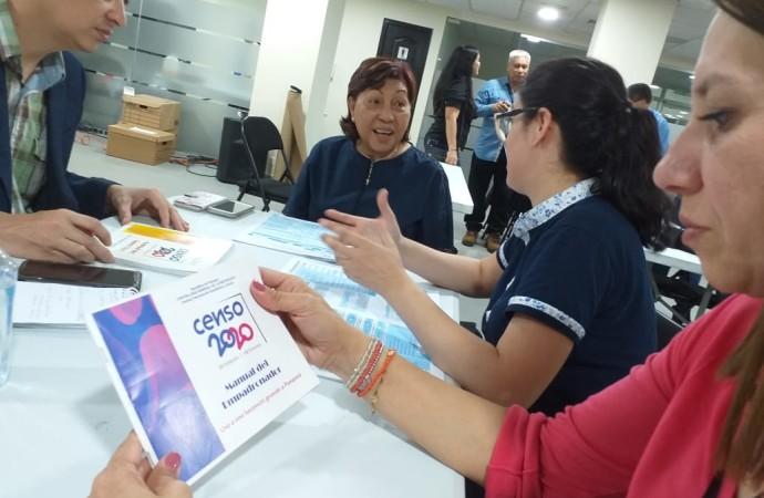 Observadores internacionales participan en el Censo Experimental