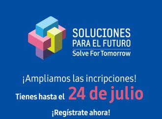 Hasta el 24 de julio tienes oportunidad de presentar tu proyecto en Soluciones para el Futuro