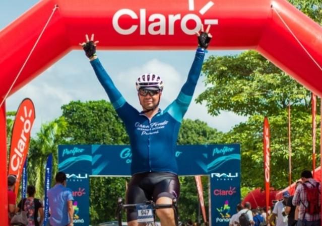 Jaime Rivas de Venezuela se impone en la cita del ciclismo: el Gran Fondo Océano Océano Panama 2019