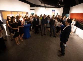 Clientes de Banca Privada de Global Bank disfrutaron de la exposición «Cruz Diez: El color haciéndose»