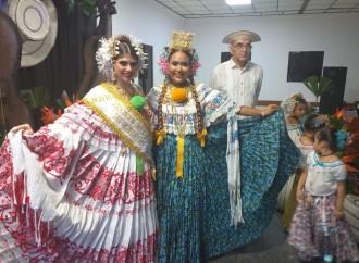 Santeños de San Miguelito celebraron su baile de violines y coronaron su novia 2019-2020