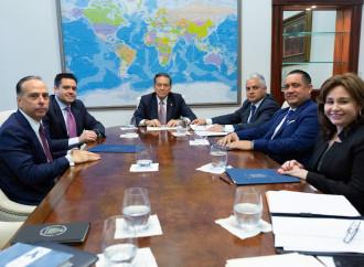 Presidentes de los tres órganos del Estado se reúnen a diseñar estrategia para sacar a Panamá de la lista del GAFI