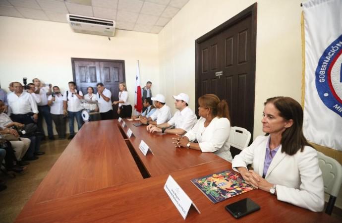 Gobierno y PNUD inician proyecto de restauración arquitectónica en Isla Colón