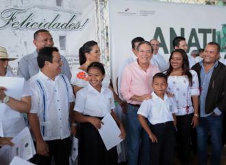Presidente Cortizo Cohen participa en entrega masiva de títulos de propiedad