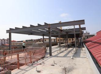 Las obras de renovación del MercadoSan Felipe Neri muestran un 80% de avance