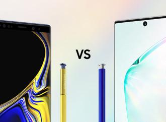 Comparación de especificaciones: el Galaxy Note10+ frente al Galaxy Note9 (Infografía)