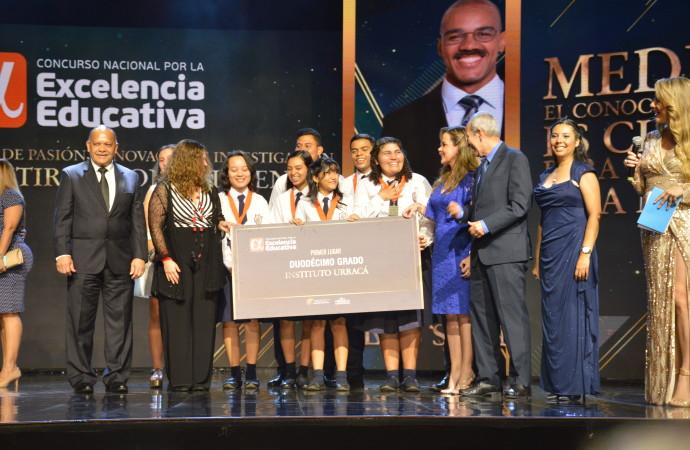 Todo un éxito la Ceremonia de Premiación de la 4ta edición del Concurso Nacional por la Excelencia Educativa