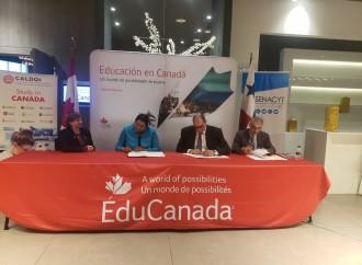 CALDO, SENACYT e IFARHU firman convenio de colaboración educativa