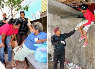 """Alcaldía de Panamá promueve elevar dignidad humana de """"Señores sin Techo"""" y drogodependientes"""