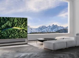 LG anuncia sus televisores OLED y Nanocell con tecnología 8K