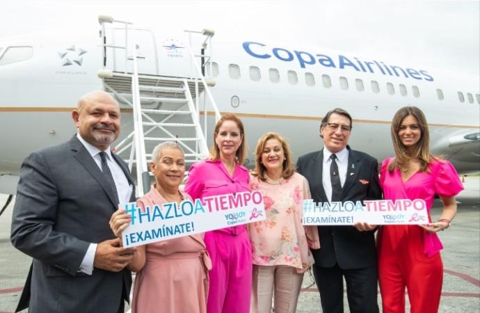 Copa Airlines y el Despacho de la Primera Dama de Panamá unen fuerzas para llevar el mensaje de prevención contra el cáncer a todo el continente