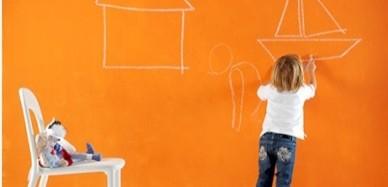 Color y creatividad para la habitación de los pequeños