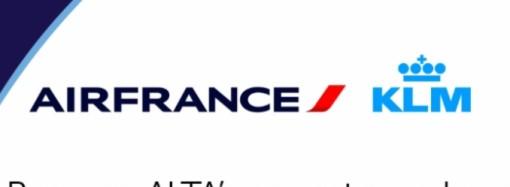 ALTA da la bienvenida a Air France-KLM