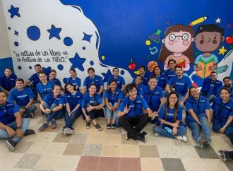 Samsung dio vida a espacios de aprendizaje en Panamádurante el Mes de Voluntariado