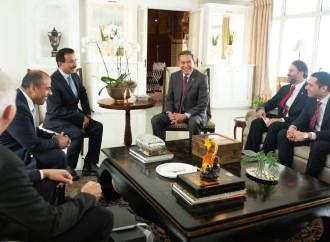 DP World muestra interés en invertir en el sector logístico en Panamá