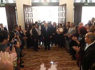 Presidente Cortizo Cohen participa de reapertura del Teatro Nacional