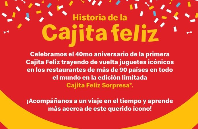 McDonald's introduce la edición limitada de la Cajita Feliz Sorpresa con icónicos juguetes de los últimos 40 años