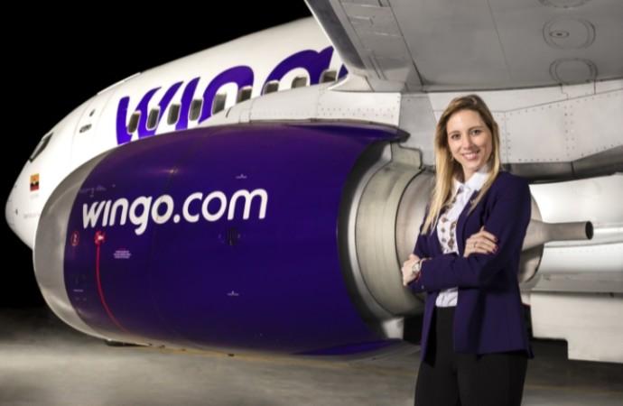 Wingo anuncia a Carolina Cortizo como su nueva Directora General