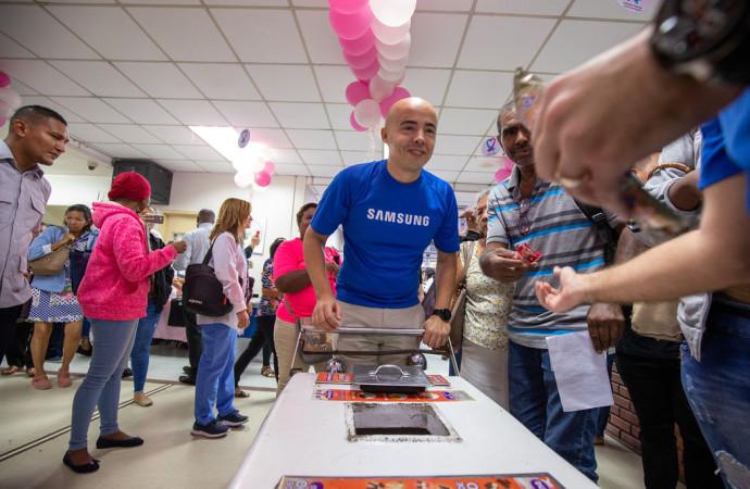 Samsung une esfuerzos con la Fundación Jupá