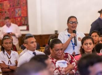 Presidente Cortizo Cohen dialoga con dirigentes de 30 organizaciones de la sociedad civil