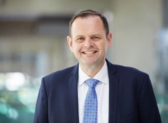 Frank Naeve, nuevo responsable de la comercialización del Grupo Lufthansa en las Américas visita Panamá