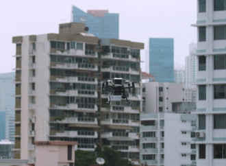 Panamá, pionero en el uso de drones  para servicios interbancarios