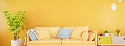 Acabado satinado: paredes limpias  y colores vivos todo el año