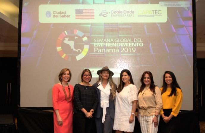 Cable Onda participó con su programa Conectadas dirigido a mujeres emprendedoras durante la Semana Global del Emprendimiento 2019