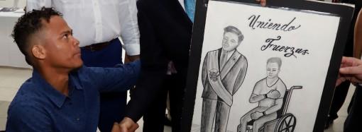 """Presidente Cortizo Cohen: """"que nadie se quede atrás"""", gobierno cumplirá con nombramiento de 2% de personas con discapacidad"""