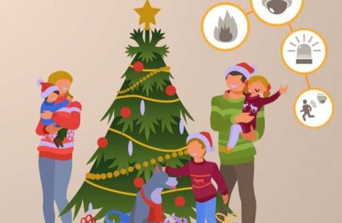 Proteja su hogar en épocas decembrinas con videovigilancia inteligente