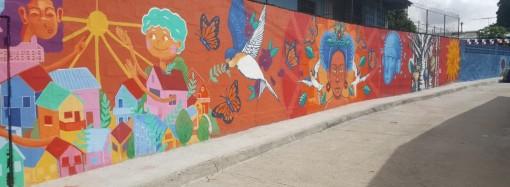 Arte en San Miguelito con Canvas Urbano y Glidden