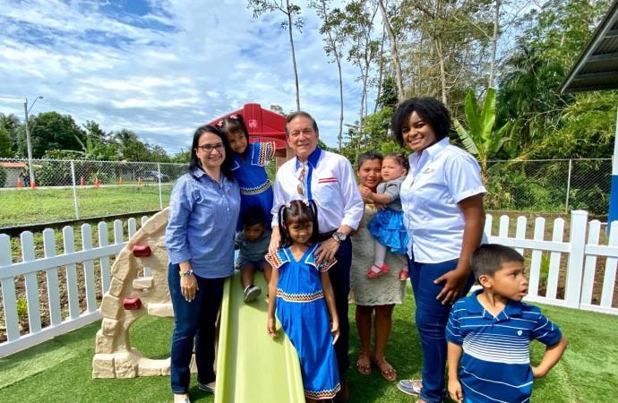 Presidente Cortizo y la ministra Markova Concepción inauguran el primer CAIPI de Bocas del Toro