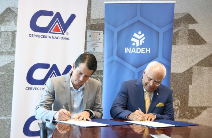 INADEH y Cervecería Nacional renuevan convenio marco de cooperación y asistencia técnica