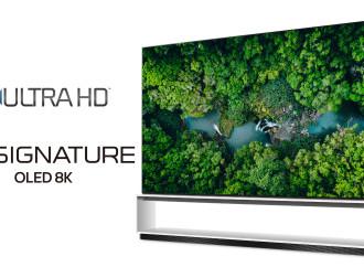 Los televisores LG, primeros en superar los requisitos de la industria para 8K ultra HD