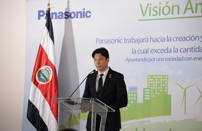 Panasonic en camino a obtener balance energético anual 100% renovable